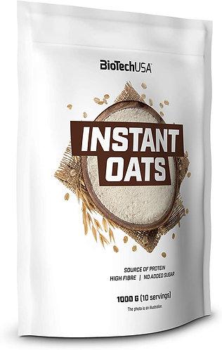 Instant Oats 1 kg - BiotechUSA. Pure farine d'avoine. Sans sucre ajouté. Riche en protéines végétale.