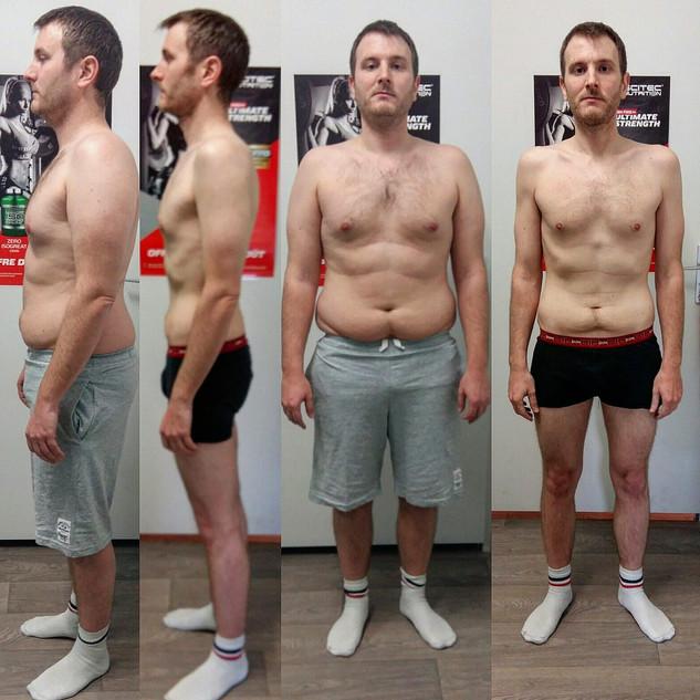 Cyrille -20kg en 4 mois