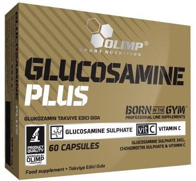 Glucosamine plus 60 capsules - Sport Édition - Olimp Sport Nutrition. Problème articulation, tendineux. Douleurs
