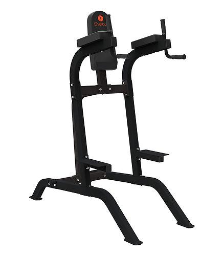 Chaise romaine - Sveltus. Tonifier les muscles de vos bras, jambes, lombaires, fessiers et abdominaux. Equipement à domicile
