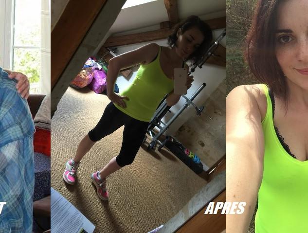 Claire Marie -40kg en 8 mois