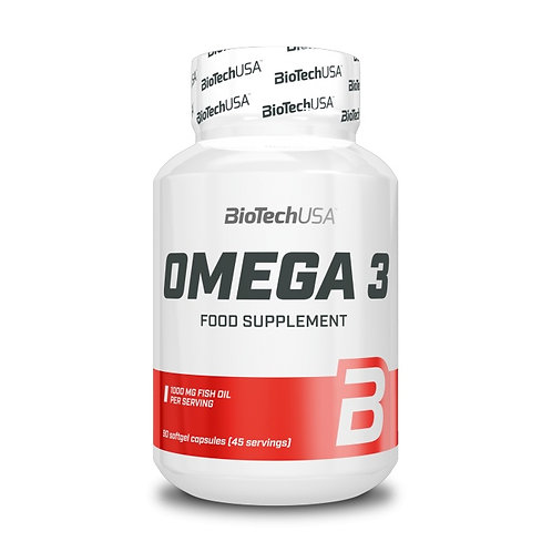 Omega 3 90 tablettes - Biotech USA