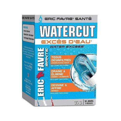 Draineur Watercut 90 gélules - Eric Favre. Rétention d'eau, perte de poids. draine et élimine. Dessine et affine.