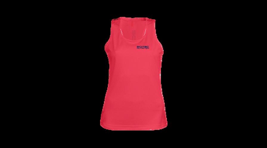 Débardeur Rose Femme - Scitec Nutrition. Vêtement sport rose fluo