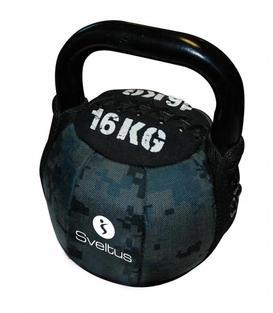 Soft kettlebell de 4kg à 16kg - Sveltus