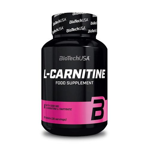 L-Carnitine 1000mg - 30 tablettes | Biotech USA