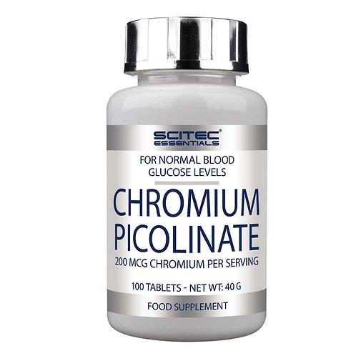 Chromium picolinate ( chrome ) 100 tablettes - scitec nutrition