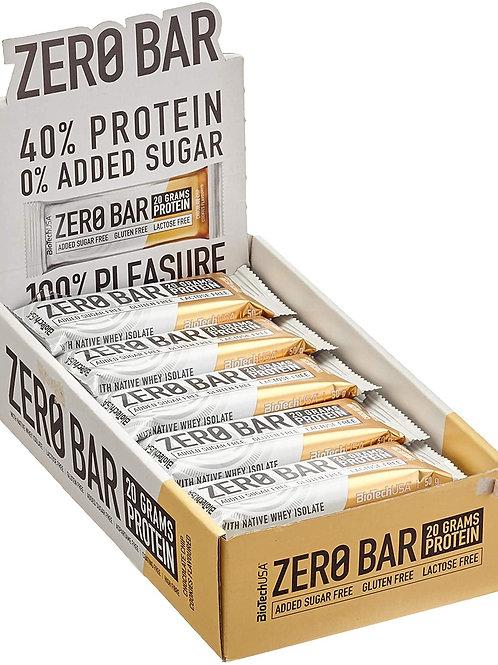 BioTech USA Zero Barre protéinée 50 g