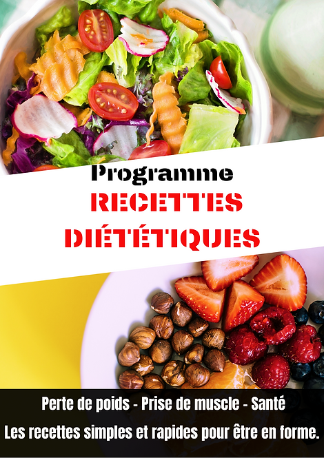 Programme - recette diététique - online fit, coaching en ligne