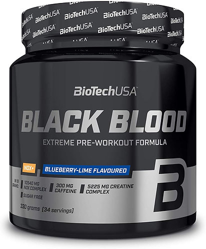 Black Blood Nox 330g -Biotech USA