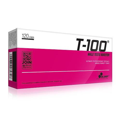 T-100 Mega Caps 120 comprimés - Olimp Sport Nutrition. Booster hormonale