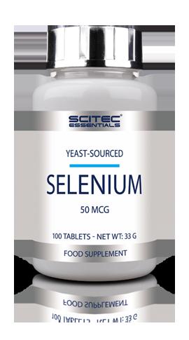 Sélénium 100 comprimés pour peaux, ongles et cheveux - Scitec Nutrition