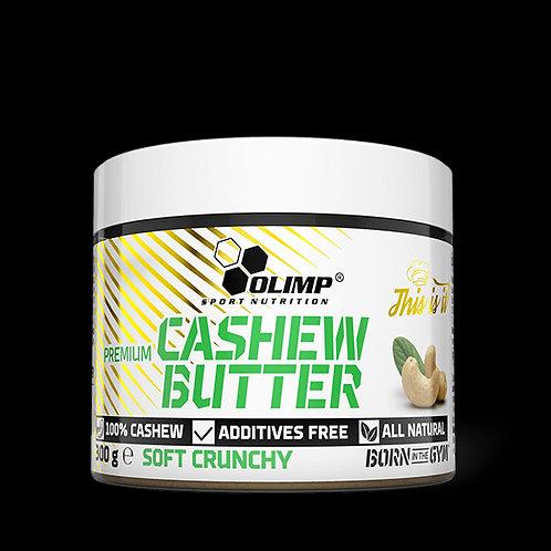 Cashew Butter, Beurre de noix de Cajou 300g - Olimp sport nutrition. Sans sucre ajouté,sans huile de palme et sans additifs.