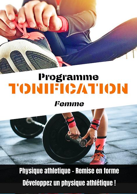 Programme de tonification / prise de masse musculaire femme. Online fit - coaching en ligne
