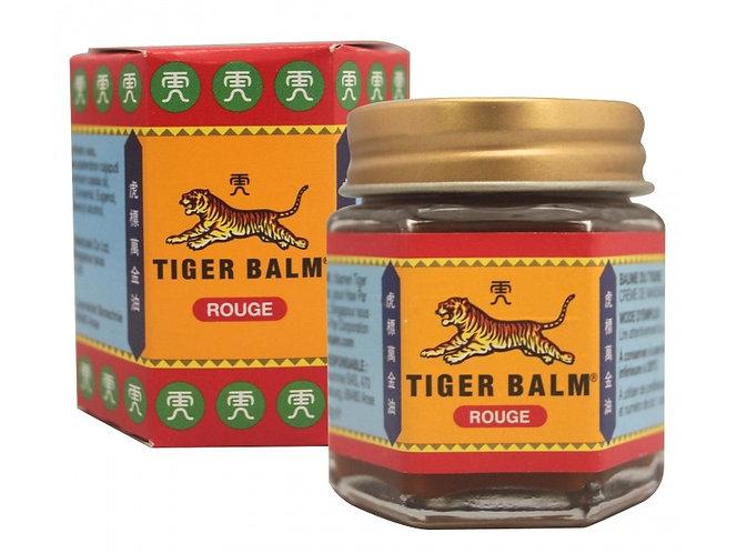 Baume du tigre rouge 30g - gel contre les douleurs musculaires, anti-inflammatoire et antalgique aux huiles essentielles.