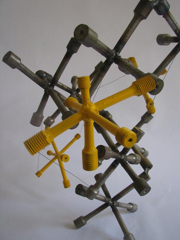 Vnitřní vazby - Ocel - 50cm - 2012.JPG