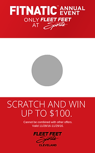 Promotional scratch off card