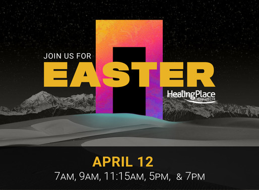 Join us Easter Sunday!