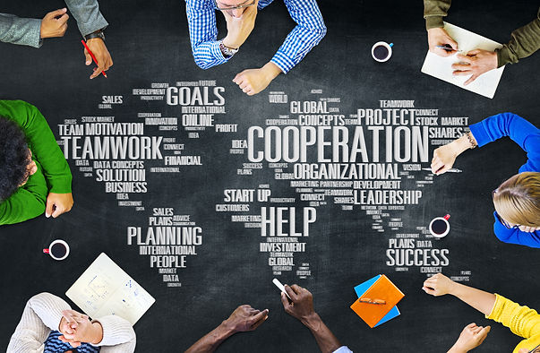 Cooperation Business Coworker Planning T