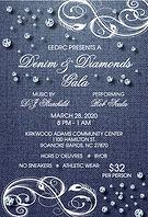 2020 - EEDRC - Denim Diamonds Ticket - J