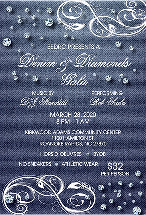 2020 - EEDRC - Denim Diamonds Ticket - J