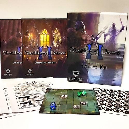 Shattered Dawn 2nd Edition Starter Kit Box
