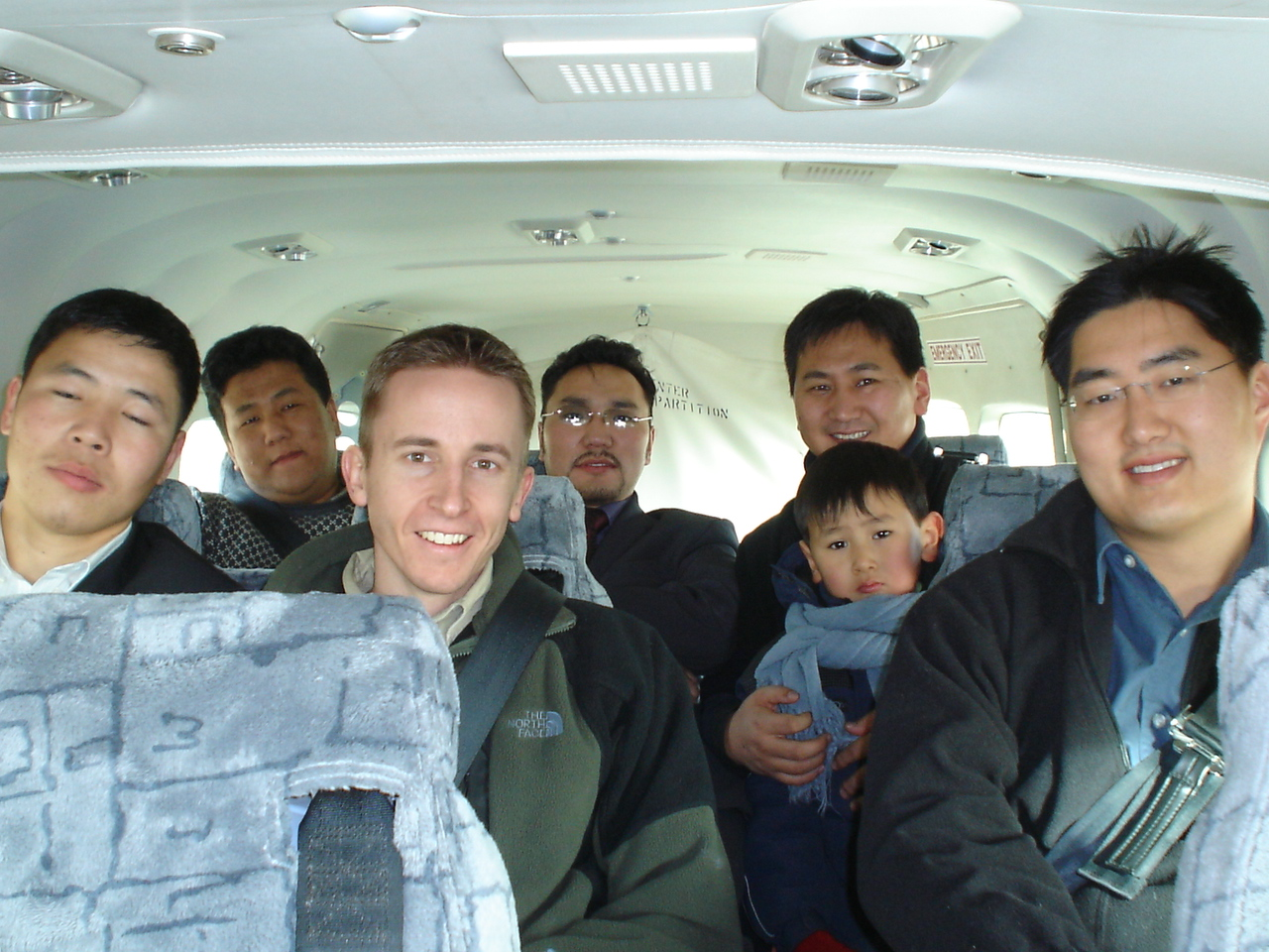 Flying with MAF, 2004