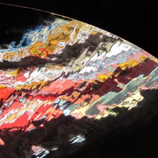 Reflet de vitrail