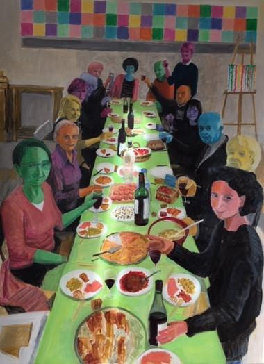 Le déjeuner en couleurs