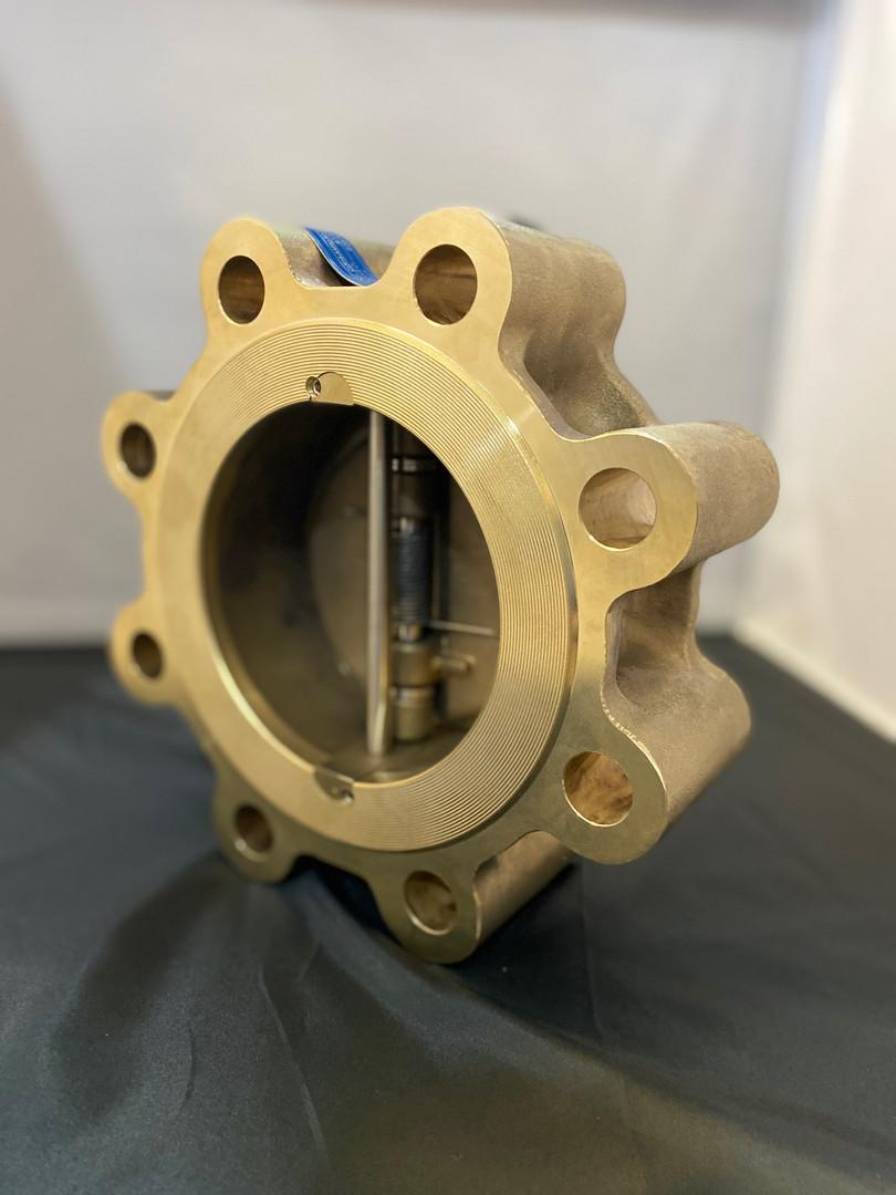 CVI's Aluminum Bronze dual disc check valves