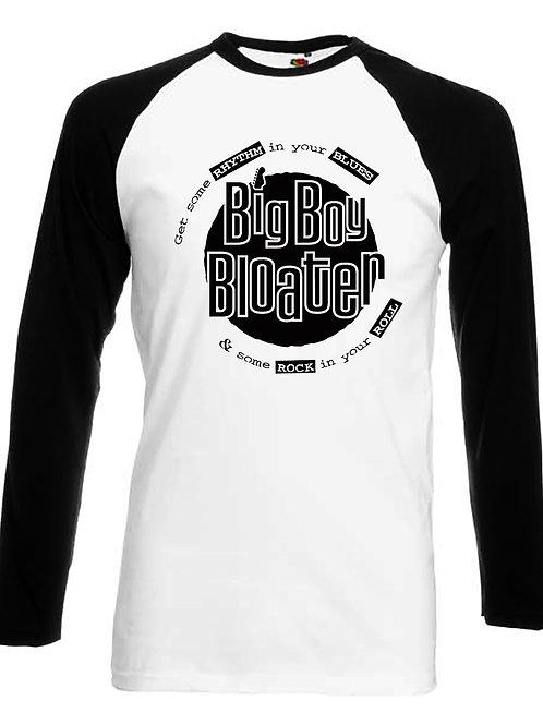 BBB B&W punk logo Baseball Tee