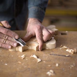 Carpenter Craving en bois