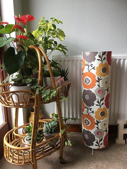 Retro Flower Floor Lamp