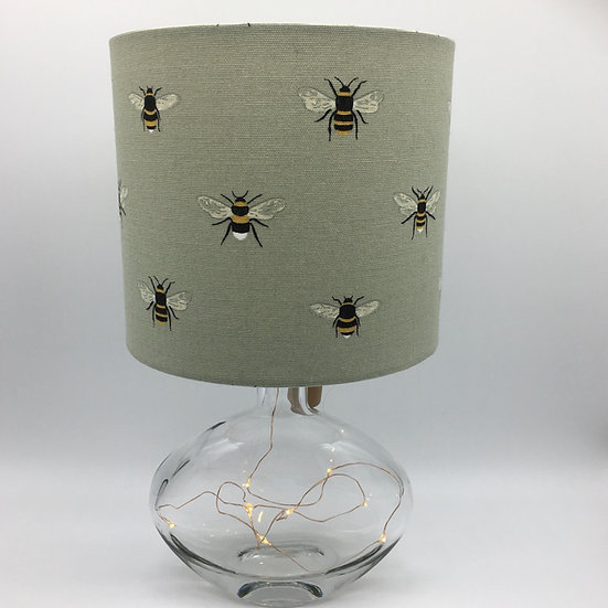 Bumble Bees with Fairy Lights