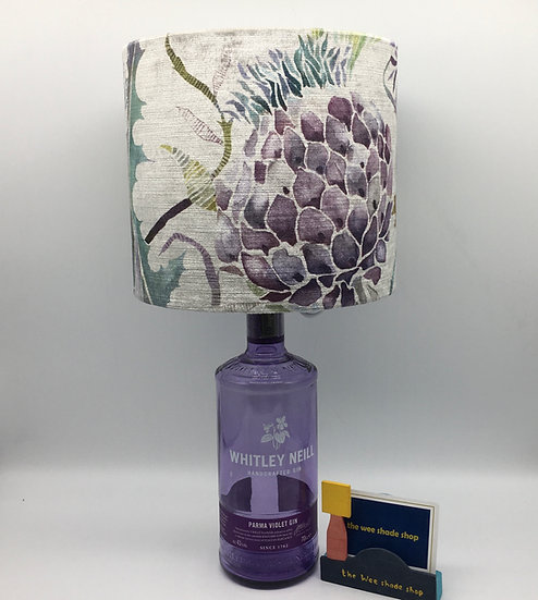 Voyage Meadwell Velvet Periwinkle Gin Lamp