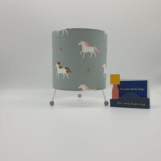 Sophie Allport Rainbow Unicorn Print Mini Lamp