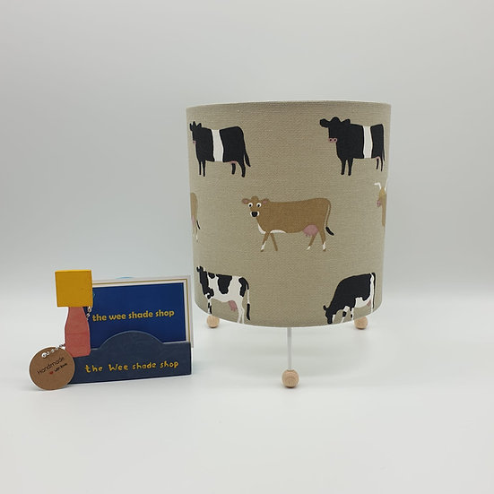 Sophie Allport Cows Mini Lamp