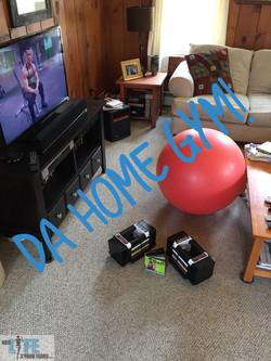 "My ""home gym"""