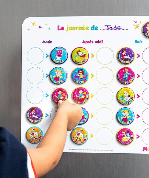 Mon tableau de routine - activités journalières pour enfant