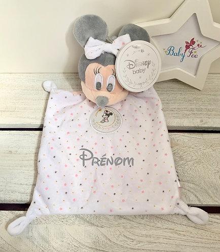 Doudou personnalisé Minnie Disney