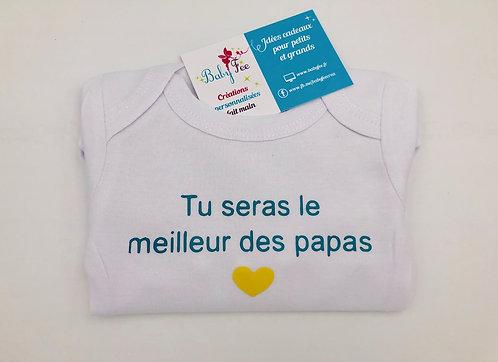 Body message - meilleur papa