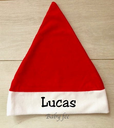 Bonnet de Noël personnalisé Enfant et Adulte
