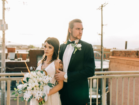 Downtown Gatsby Inspired Styled Shoot