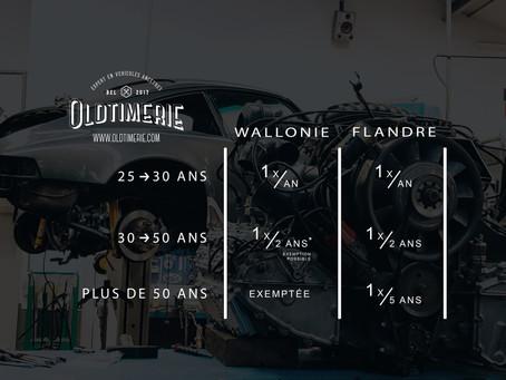 Wallonie - Contrôle technique périodique