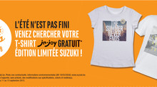 T-shirt J&Joy gratuit au Garage Huberty  Limited edition