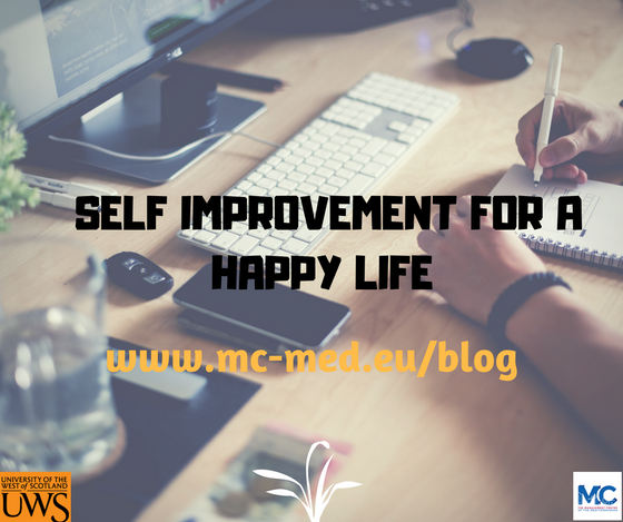 Self-Improvement for a Happy Life