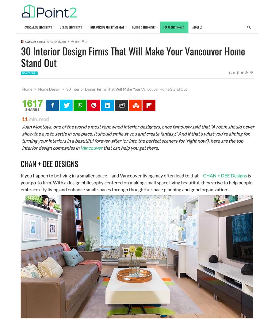 Vancouver top design firms