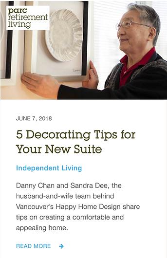 Decorating tips Danny Chan Sandra Dee