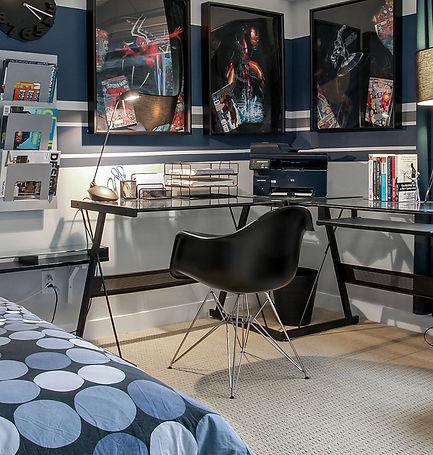 Supehero Kid's Bedroom