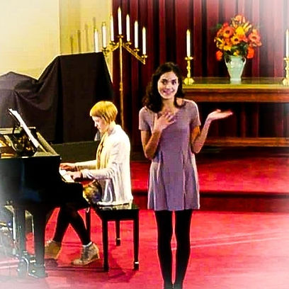 musical theater singing and acting